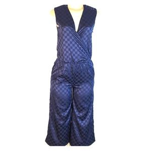 Julie Brown NYC Roadhouse Zoey Jumpsuit Blue 2